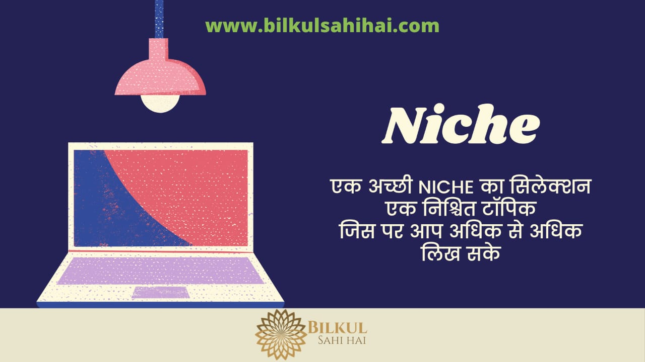 niche selection first tip of Blogging Tips in Hindi list
